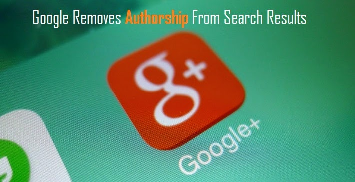 Google Removes Authorship From Search Results