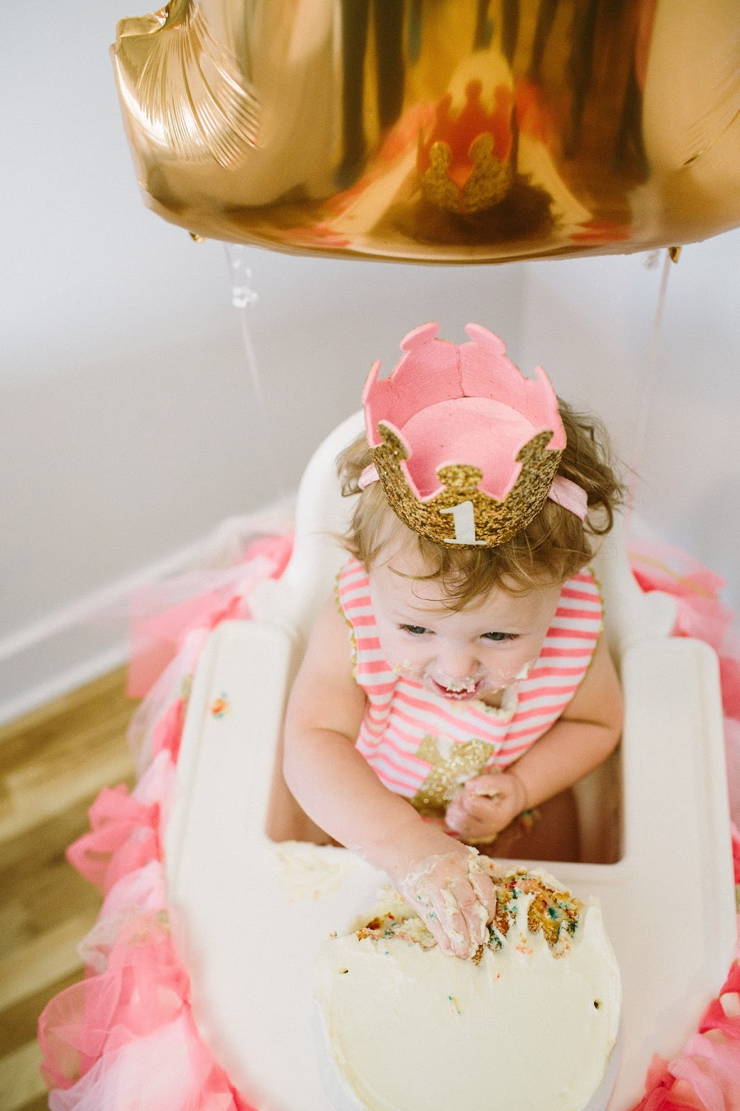 Birthday Baby, First Birthday, Birthday Crown