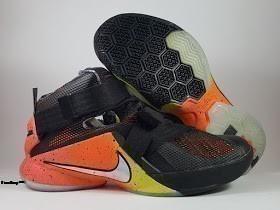 Sepatu Basket Nike LeBron Soldier 9 Raise, toko sepatu basket, jual sepatu basket, harga basket nike, nike lerbon soldier , soldier 9