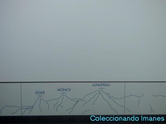 Niebla en el Schilthorn