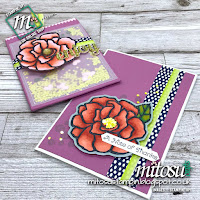 Stampin' Up! Beautiful Day Rubber Stamps & Mini Treat Bag Order from Mitosu Crafts UK Online Shop