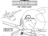 Disney Planes Fire And Rescue Printable Coloring Pages