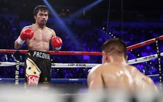 BOXEO - Pacquiao regresó y retomó el peso wélter OMB