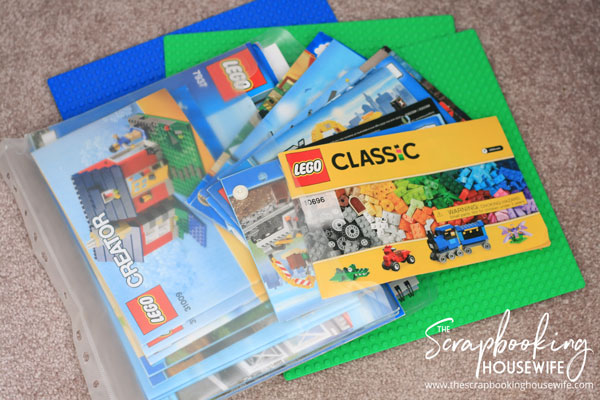 Lego Instruction Manual Storage & Ellabella Designs: The Best Way to Sort and Organize Lego