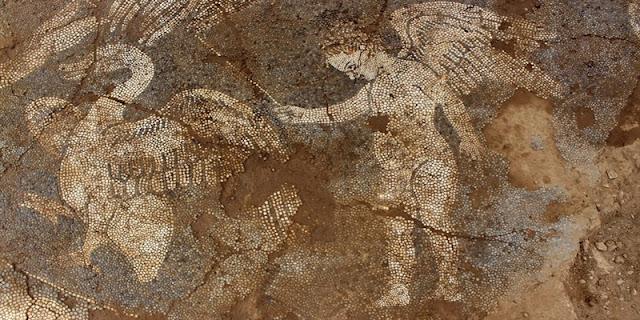 Ένα εντυπωσιακό ψηφιδωτό έφεραν στο φως οι αρχαιολόγοι