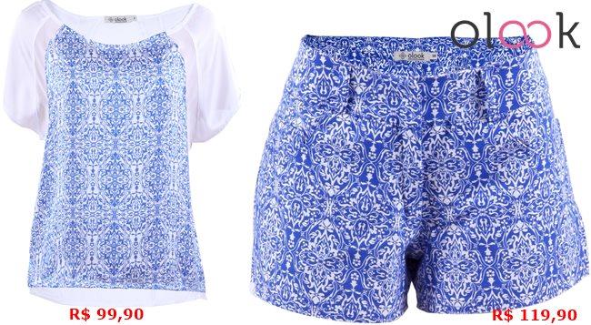 Olook coleção azulejo português