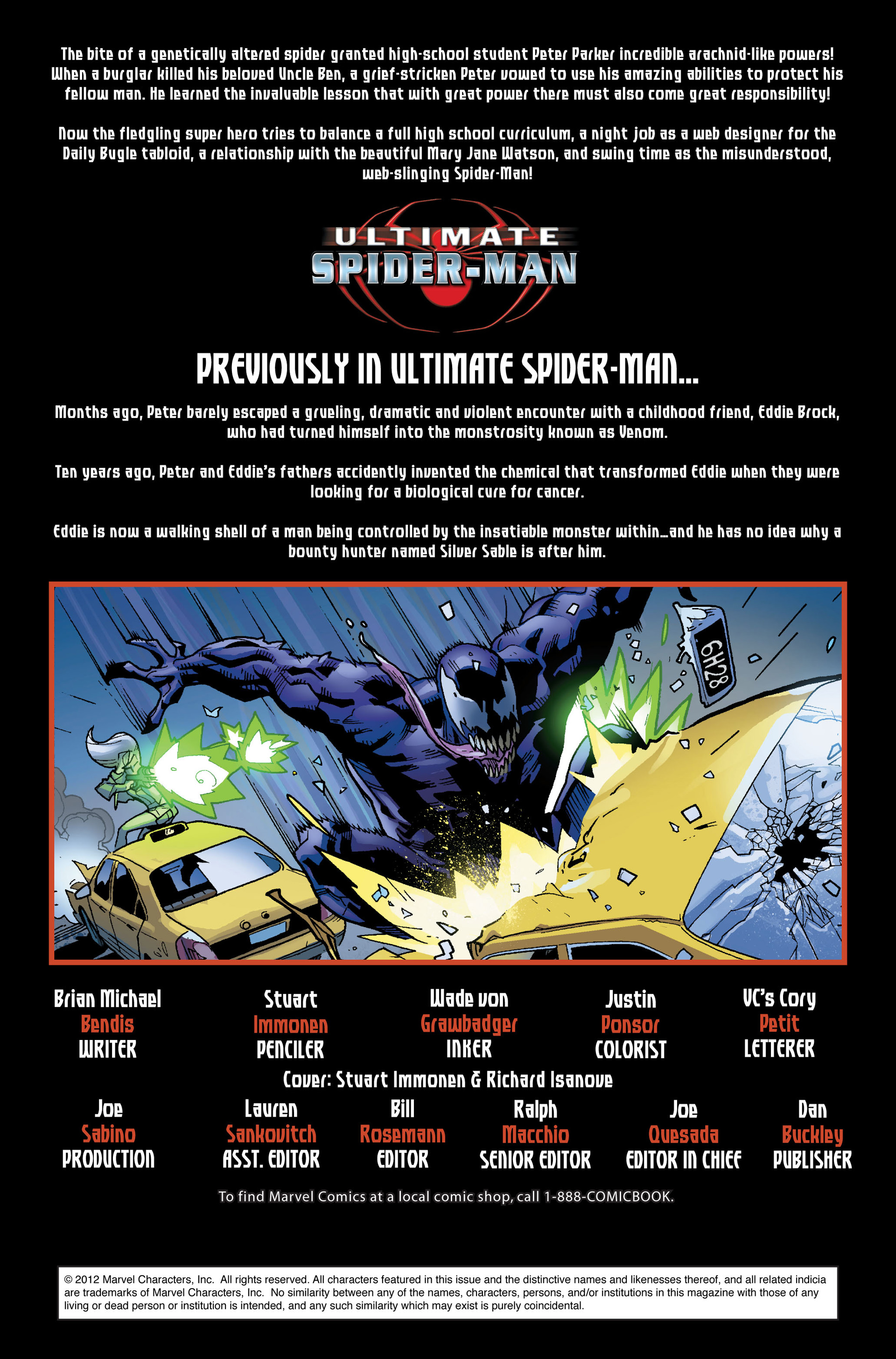 Read online Ultimate Spider-Man (2000) comic -  Issue #124 - 2