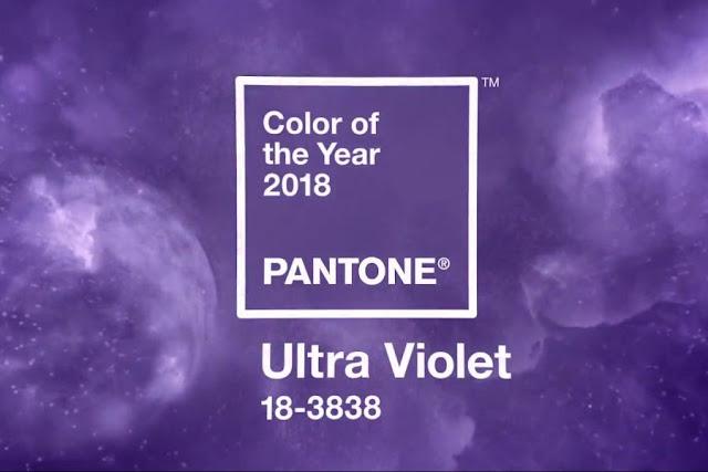 Ultra Violet é escolhida a cor do ano pela Pantone