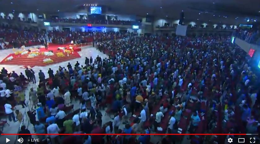 Watch Winners' Chapel LIVE Service with Bishop David Oyedepo   Watch Winners' Chapel LIVE Servixce Covenant Hour of Prayer Service (23/01/2018) - Live Stream  You are watching the Covenant Hour of Prayer Service, January 22, 2018 with Bishop David Oyedepo at Living Faith Church aka Winners' Chapel, Faith Tabernacle Canaan Land Ota Nigeria. (Please, reload this page for the latest live event)