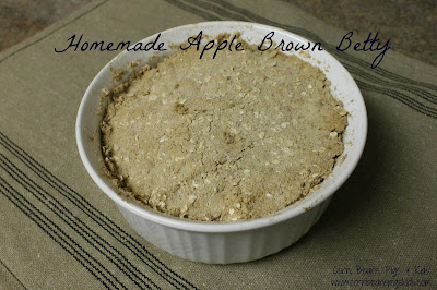 #AppleWeek Apple Brown Betty