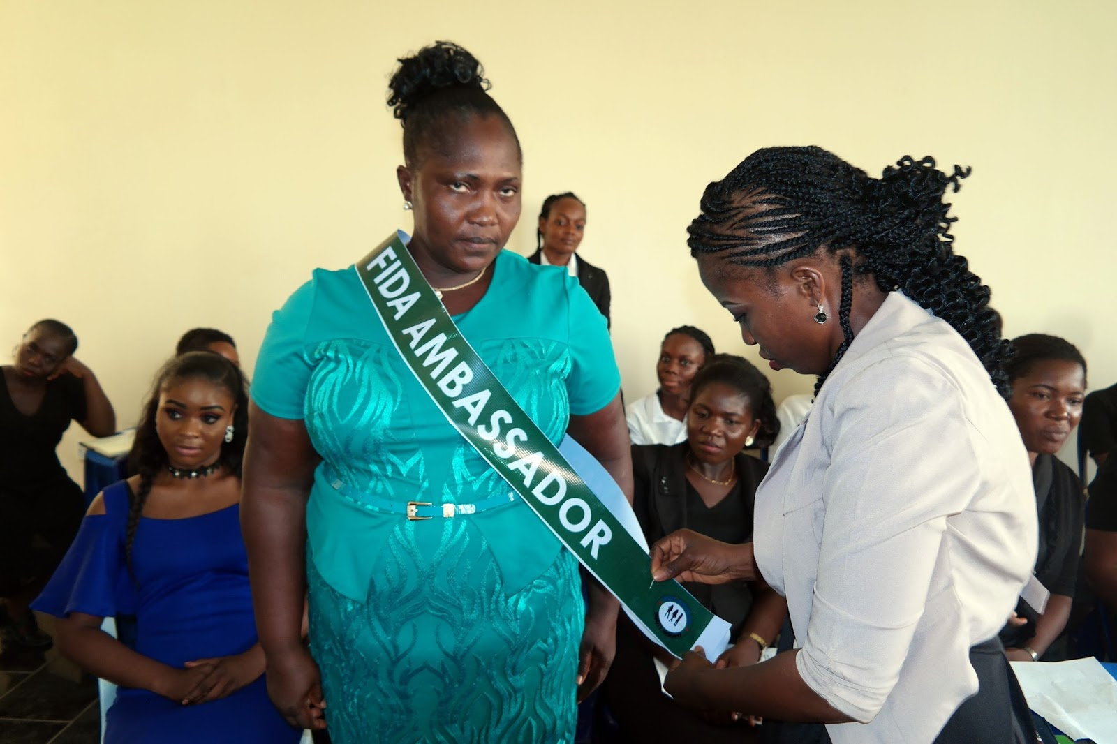 FIDA decorates Beauty Queens as FIDA Ambassandors