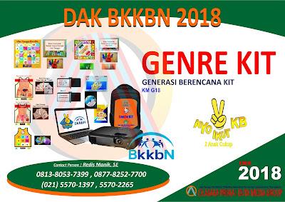 PRODUKSI Genre Kit 2018 , Produsen & Distributor dak BkkbN 2018 ,GENRE KIT,DAK BKKBN 2019