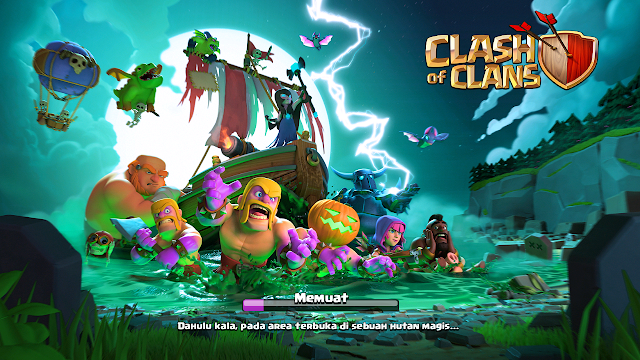 Total Size Game Clash of Clans(COC) - Masih Tetap Kecil