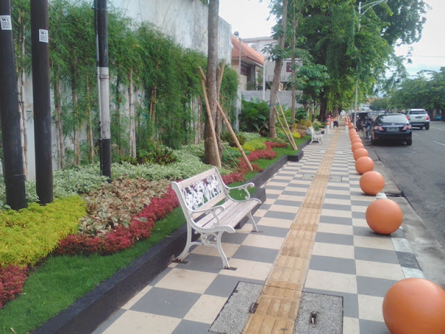 Pedestrian Jalan Imam Bonjol Kota Semarang