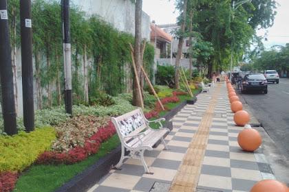 Pedestrian di Kota Semarang makin cantik saja