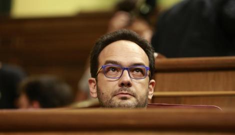 Una filtración hunde al socialista Antonio Hernando