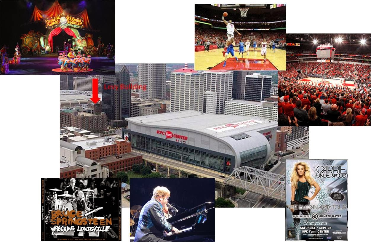Hotels Around Kfc Yum Center