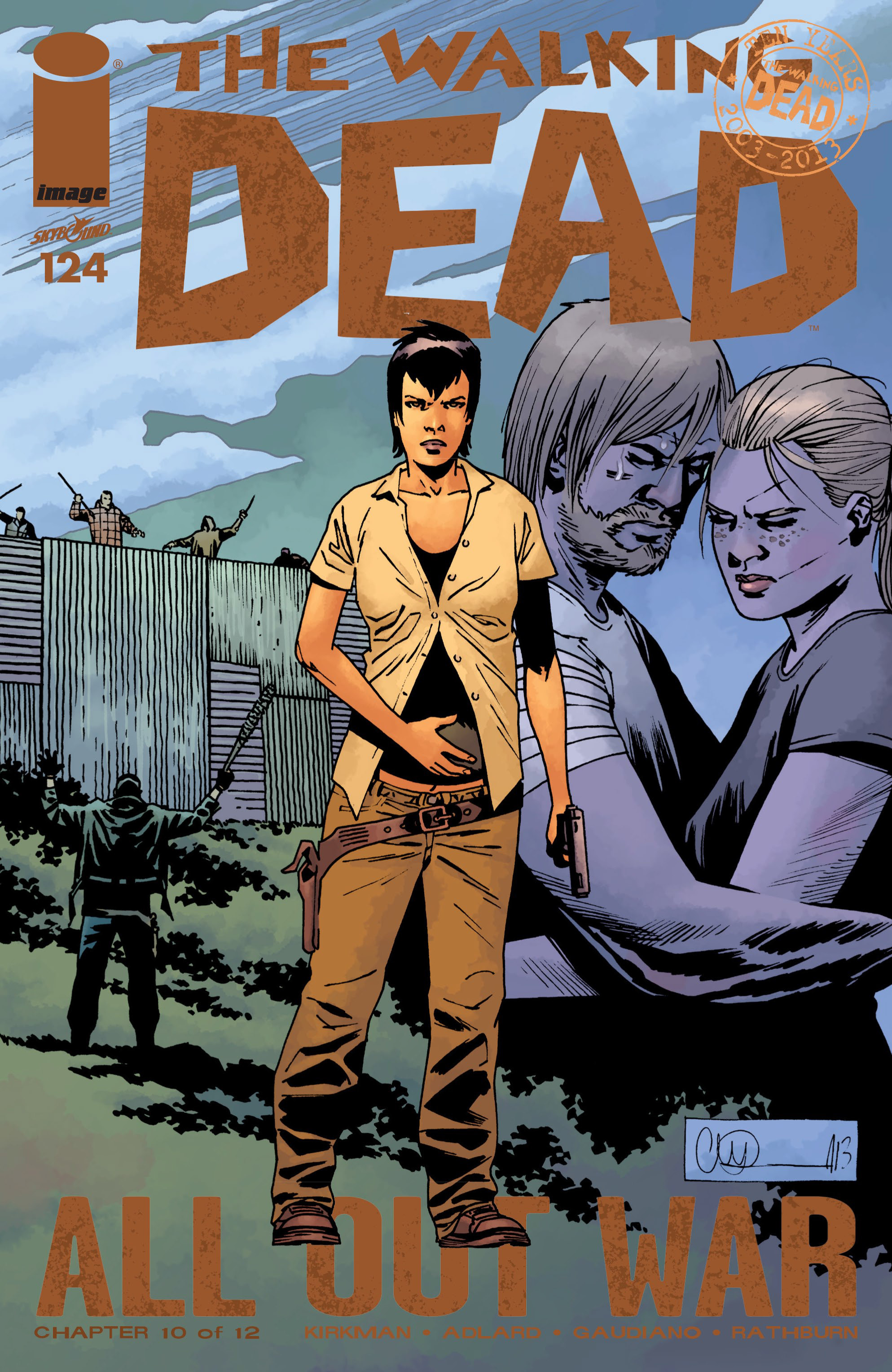 The Walking Dead 124 Page 1