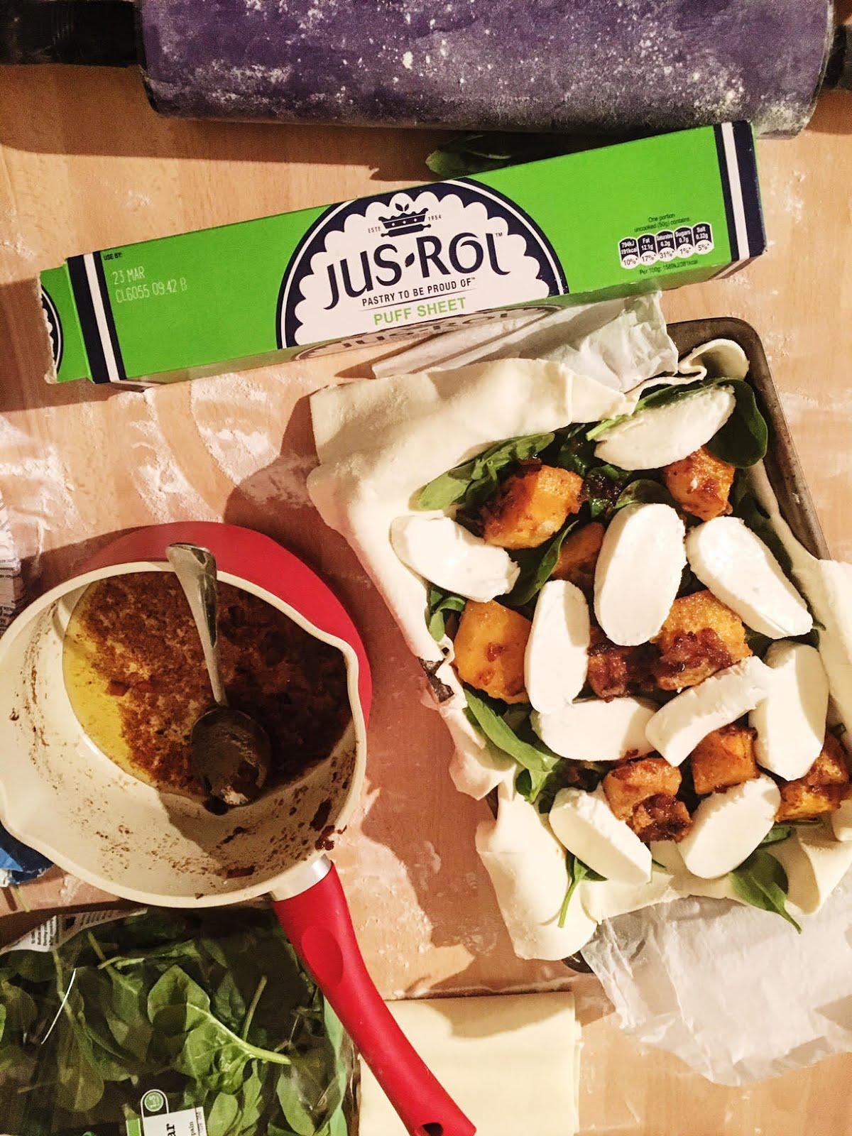 Veggie Easter Pie Recipe #JusRoll