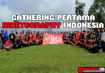 Gathering pertama Ridetography Indonesia berlangsung meriah!