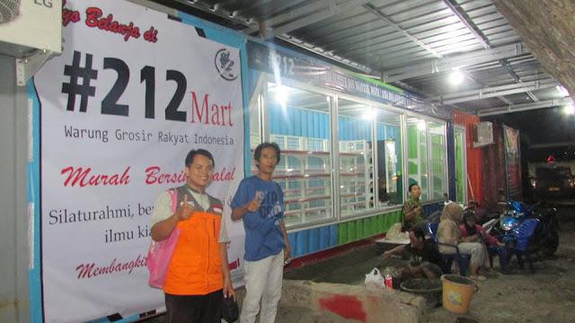 Allhu Akbar!!! Ternyata Warung 212 Mart Yang Bersih Murah Halal Sudah Berdiri Lho