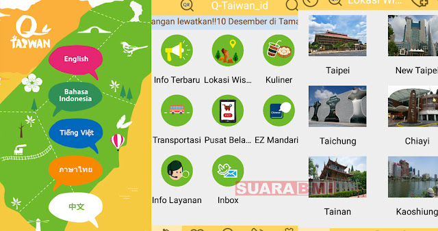 Bingung Mau Pergi Kemana Saat Liburan, Manfaatkan Aplikasi QTaiwan Untuk Memandumu
