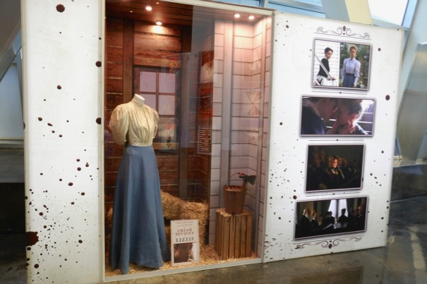 Lizzie movie costume prop exhibit