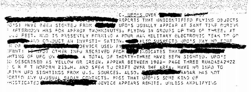 UFO report 33