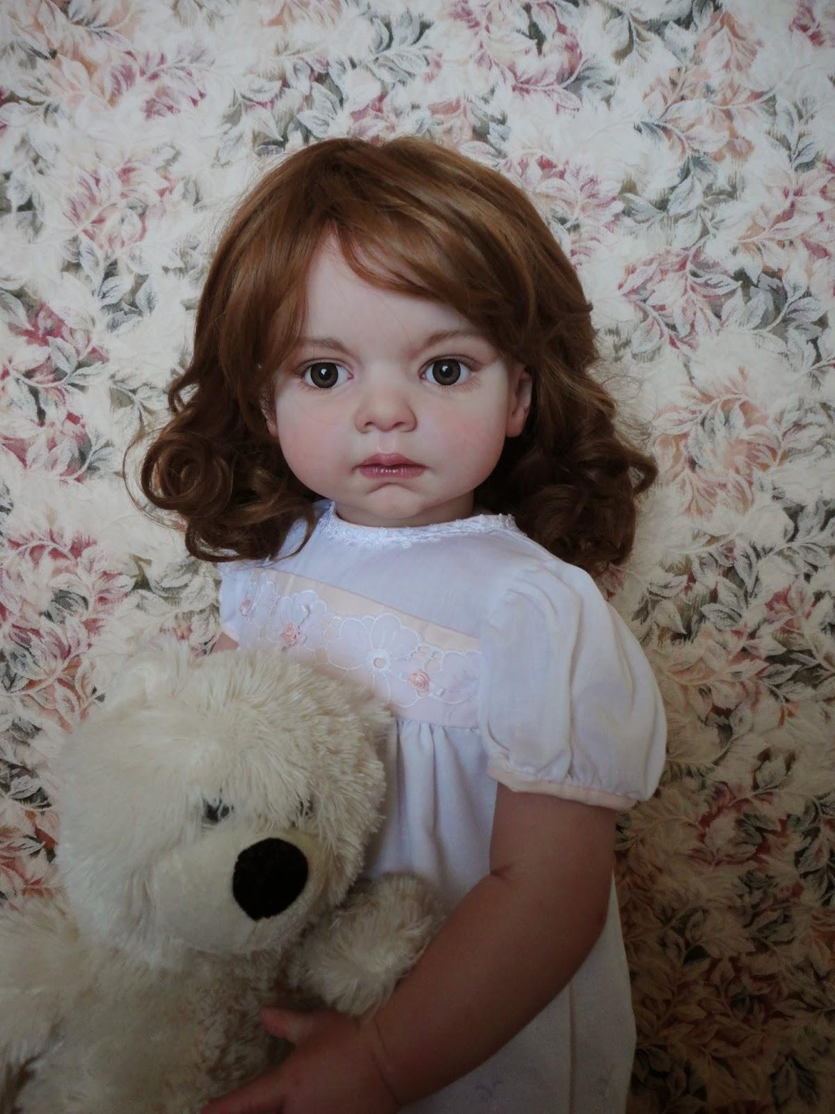 anya 39 s originals reborns and ooak art dolls beautiful reborn toddler portrait doll. Black Bedroom Furniture Sets. Home Design Ideas