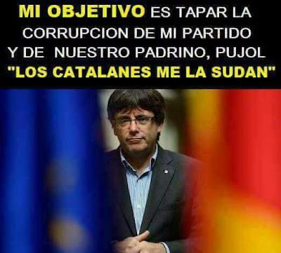 Mi objetivo es tapar la corrupción de mi partido y de nuestro padrino, Jordi Pujol, los catalanes me la sudan