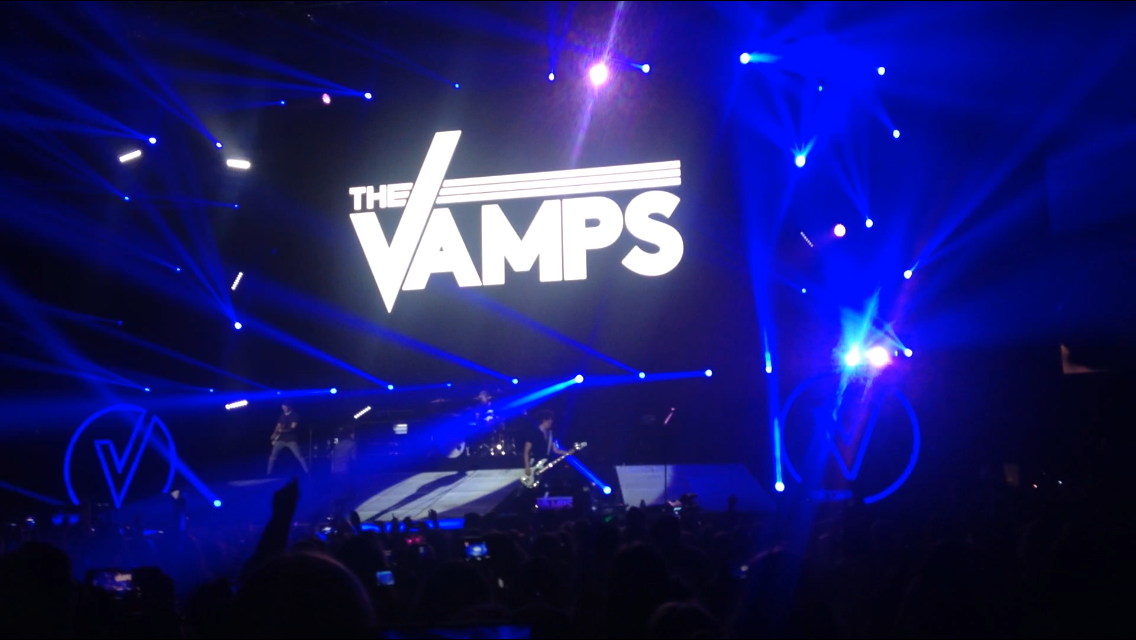 the vamps concert