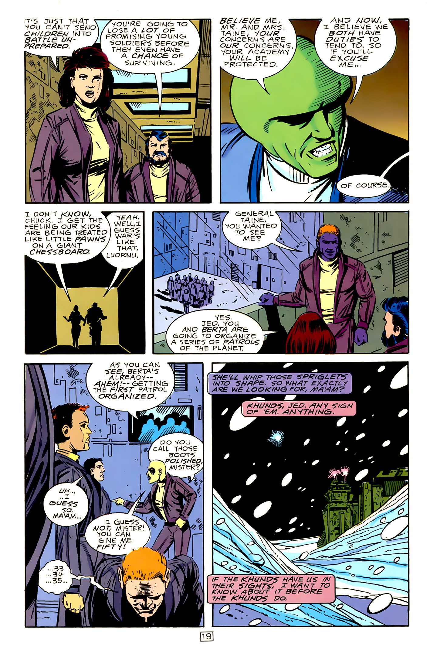 Legion of Super-Heroes (1989) 15 Page 19