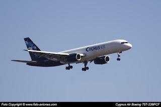 Avión Boeing 757 EC-KLD