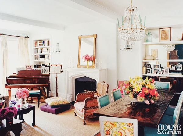 Decor Inspiration Bohemian in Manhattan design by Emma Jane