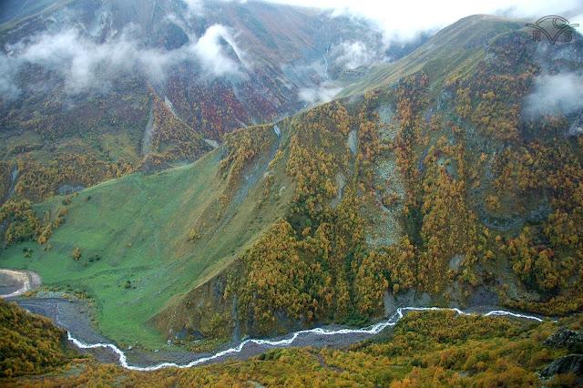 wojenna droga gruzinska kaukaz w gruzji