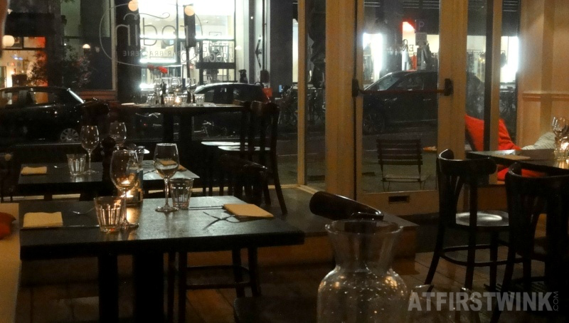 Restaurant Rodin Rotterdam interior