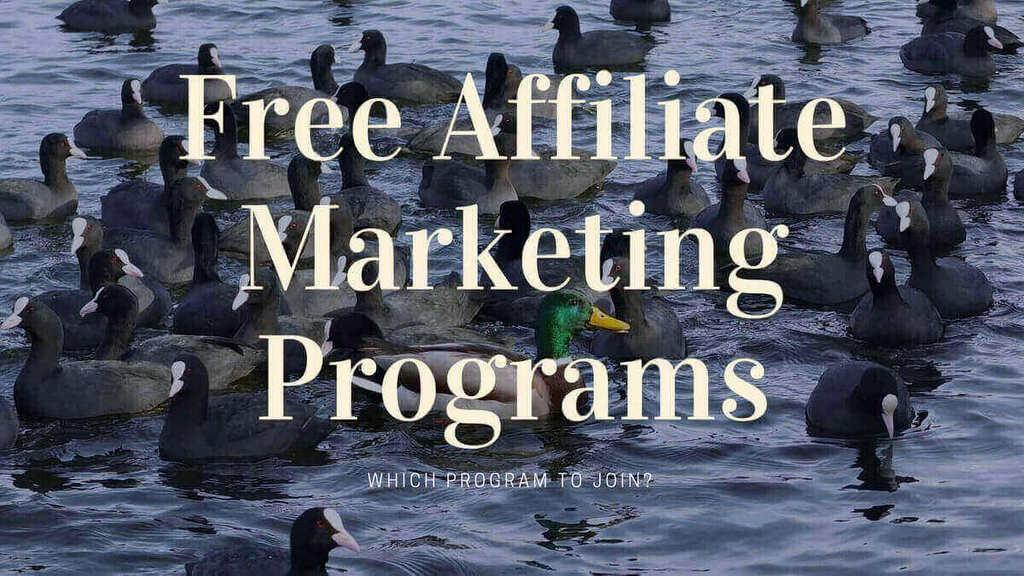 free affiliate marketing program