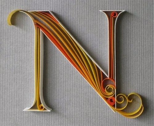 14-N-Quilling-Illustrator-Typographer-Calligrapher-Paper-Sculptor-Sabeena-Karnik-Mumbai-India-Sculptures-A-to-Z-www-designstack-co