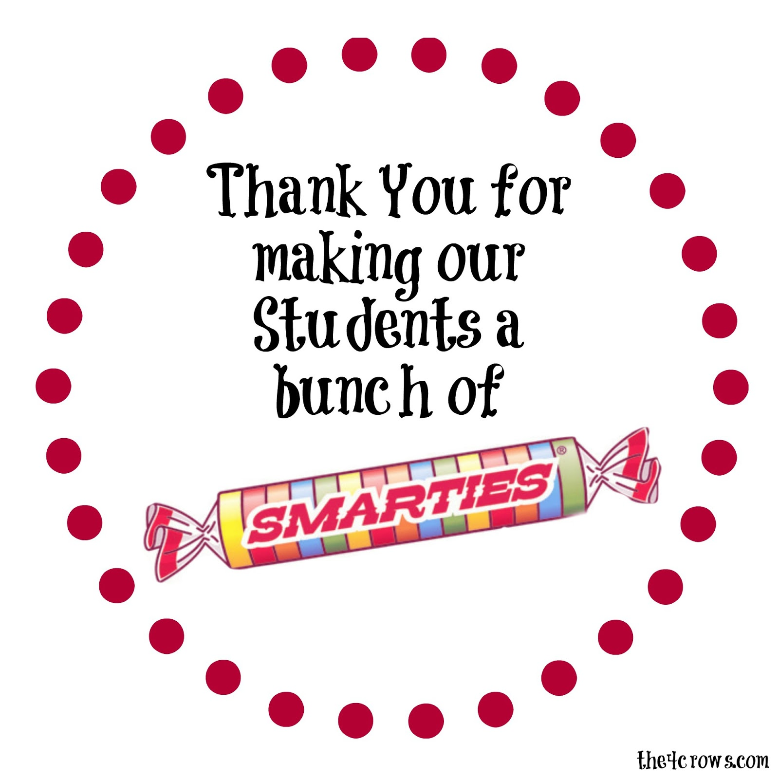 The 4 Crow S Blog Got Smarties Here S An Idea For