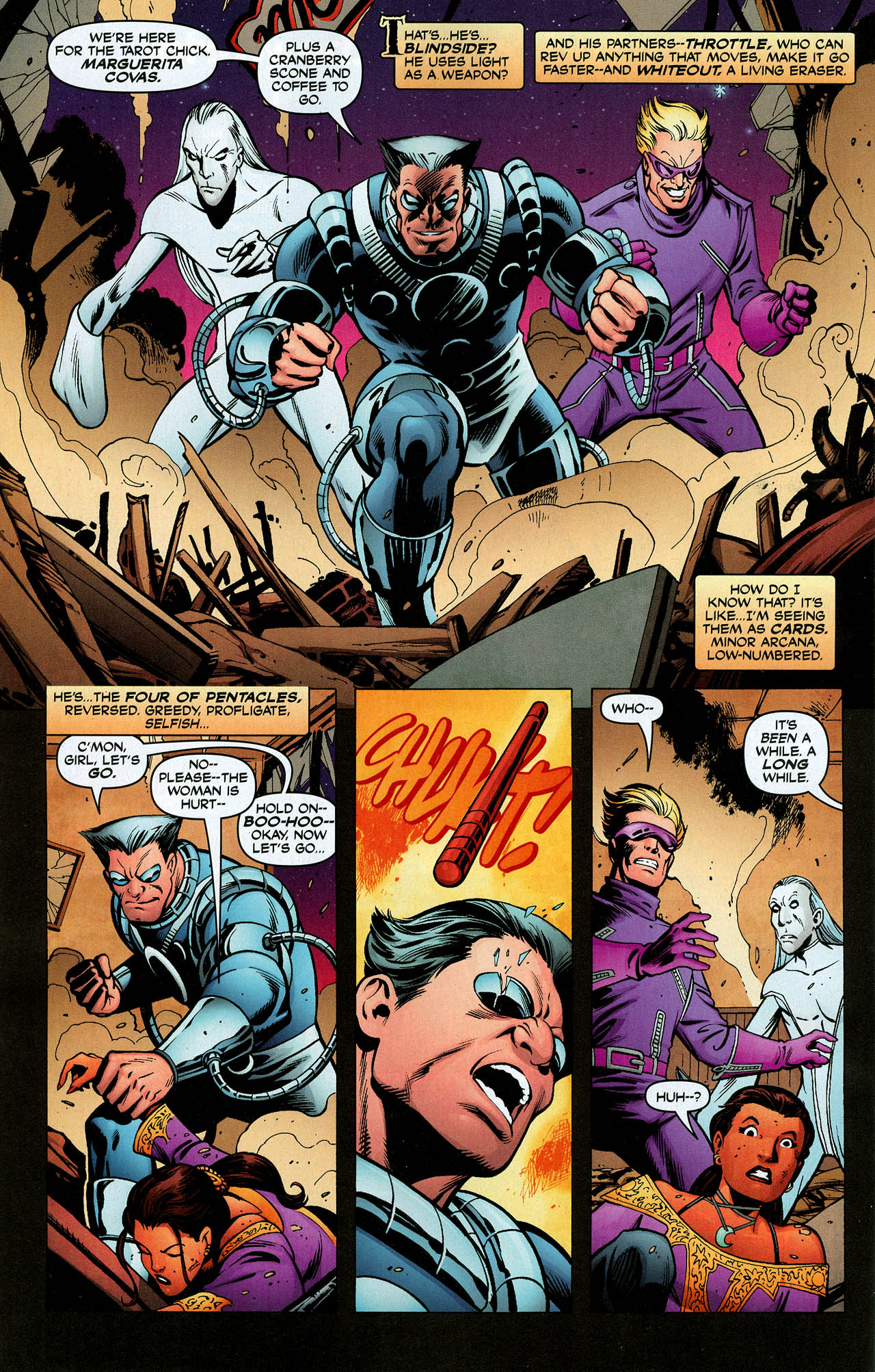 Read online Trinity (2008) comic -  Issue #5 - 25
