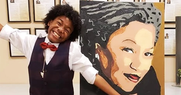 Tyler Gordon, 12-year old self-taught artist