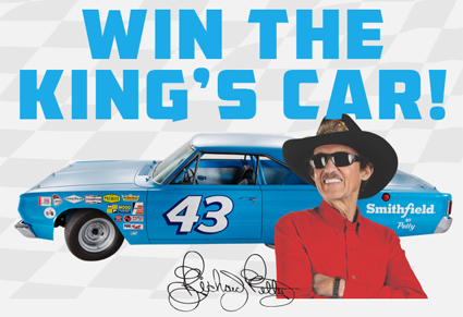 "#Win A Chance to Drive Like A #NASCAR ""King"""