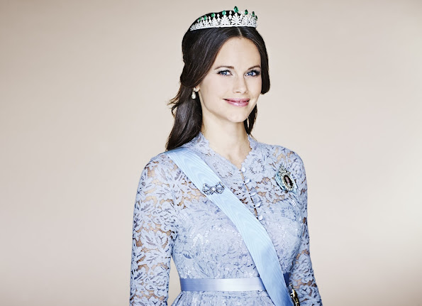 Royal Palace of Sweden published new a photos of Princess Sophia of Sweden in its official website