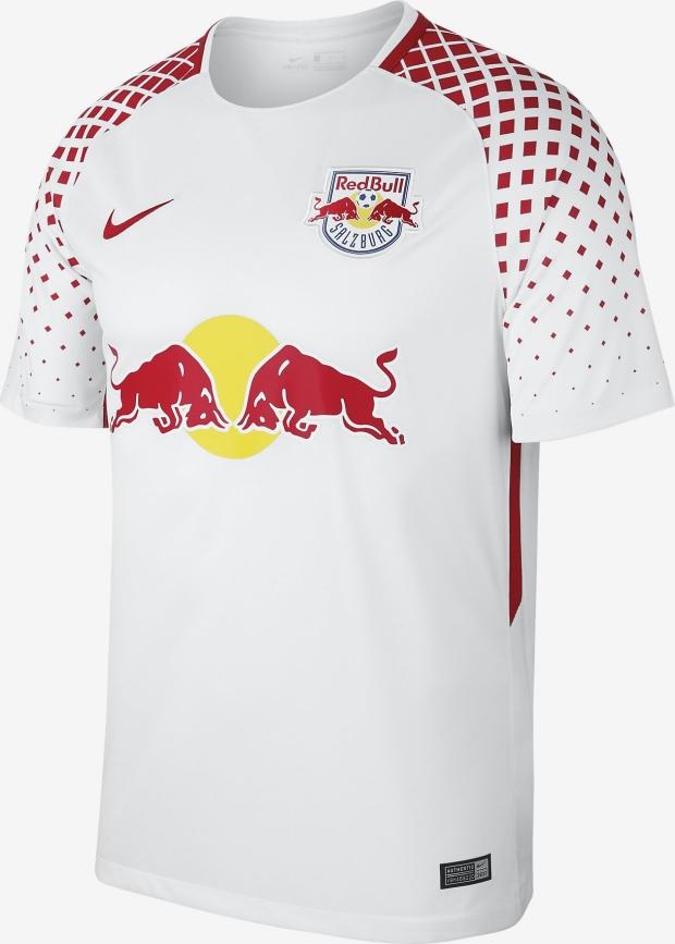 a7f281449e97b Nike lança as novas camisas do Red Bull Salzburg - Show de Camisas