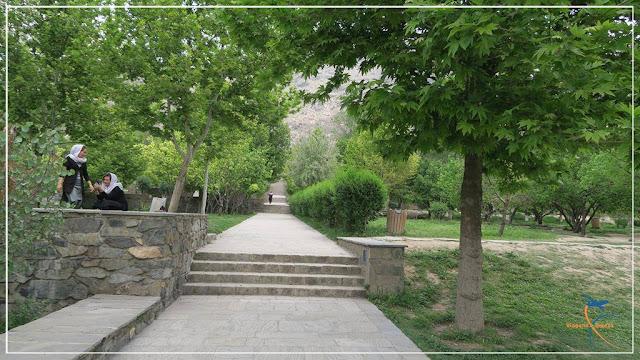 Jardins de Babur em Cabul, no Afeganistão