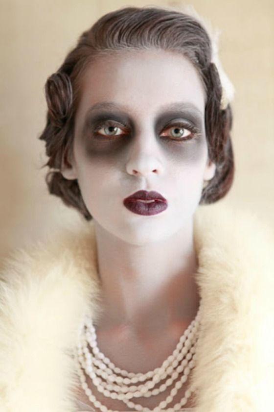 Maquiagem Halloween, idéia facil de fazer