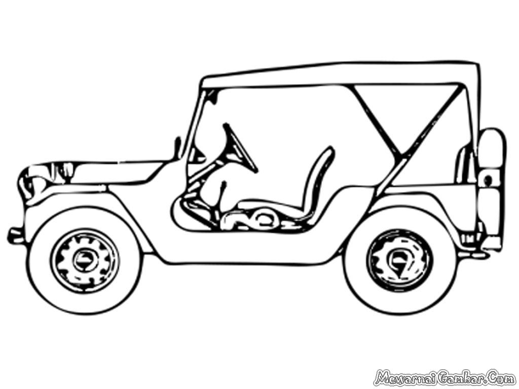 Mewarnai Gambar Mobil Truk Bak Terbuka Auto Electrical Wiring Diagram