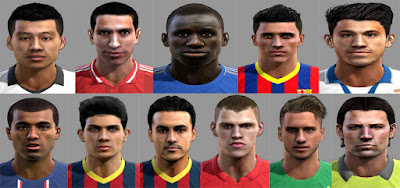 Facepack Europa Pes 2013 by leirbag7