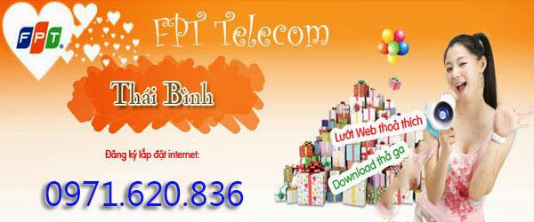 Lắp Đặt Internet FPT Phường Kỳ Bá, Tp Thái Bình