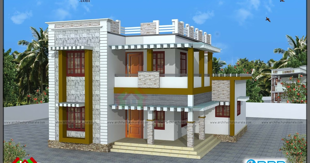 1900 sqft house plan and elevation architecture kerala for 1900 architecture houses